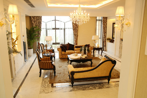 Luxury interior designs for Living room lighting ideas