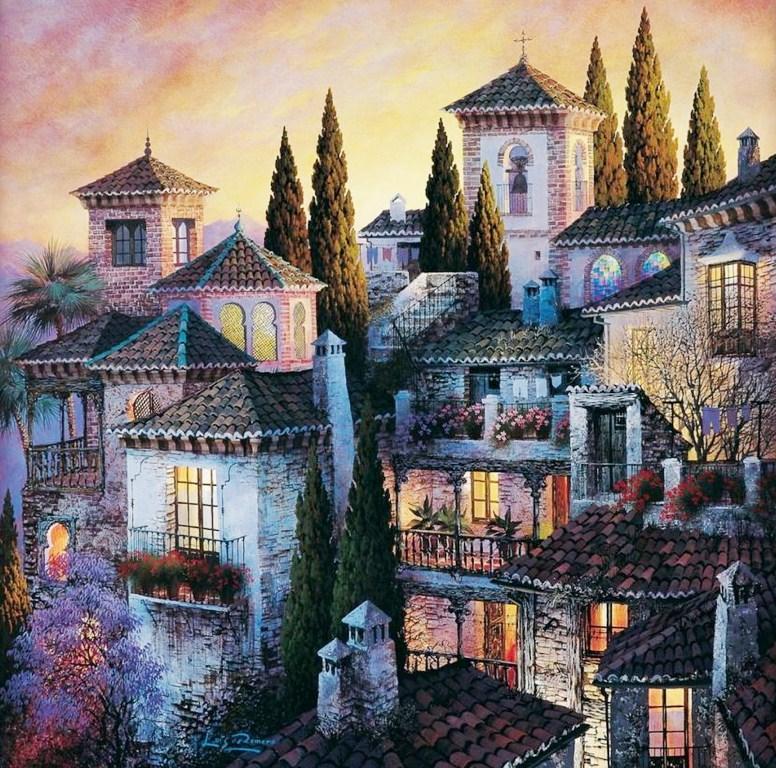 Cuadros pinturas oleos cuadros de paisajes bonitos - Cuadros muy bonitos ...