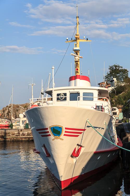 Amalie loves Denmark - Ferienurlaub auf Bornholm, Fähre zu den Erbseninseln