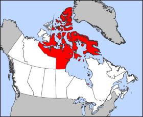 Nunavut Territory Canada
