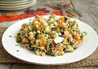 Wheat Berry, Wild Rice and Butternut Squash Salad