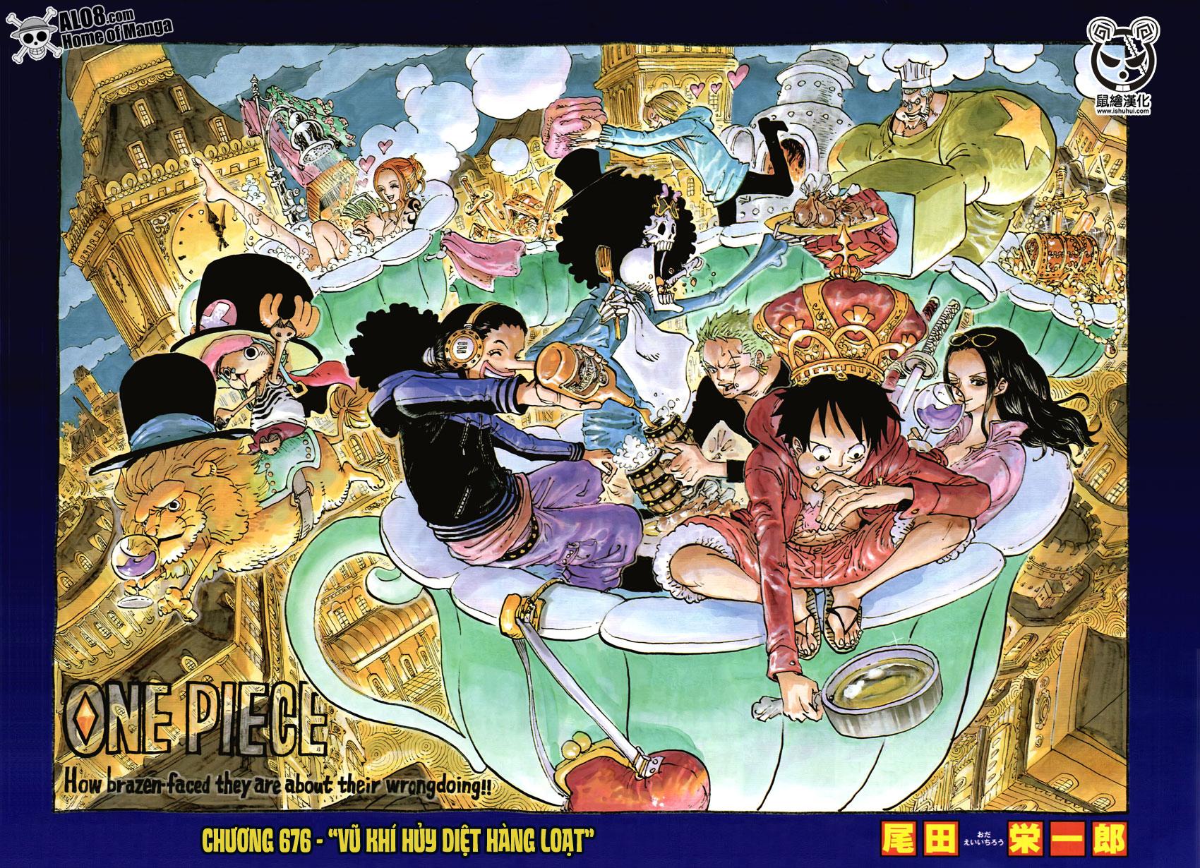 One Piece Chapter 676: Vũ khí hủy diệt hàng loạt 002