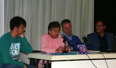 Xerrada literària (Edgar Cotes - Mariona Borràs - Josep Casals - Toni Arencón)
