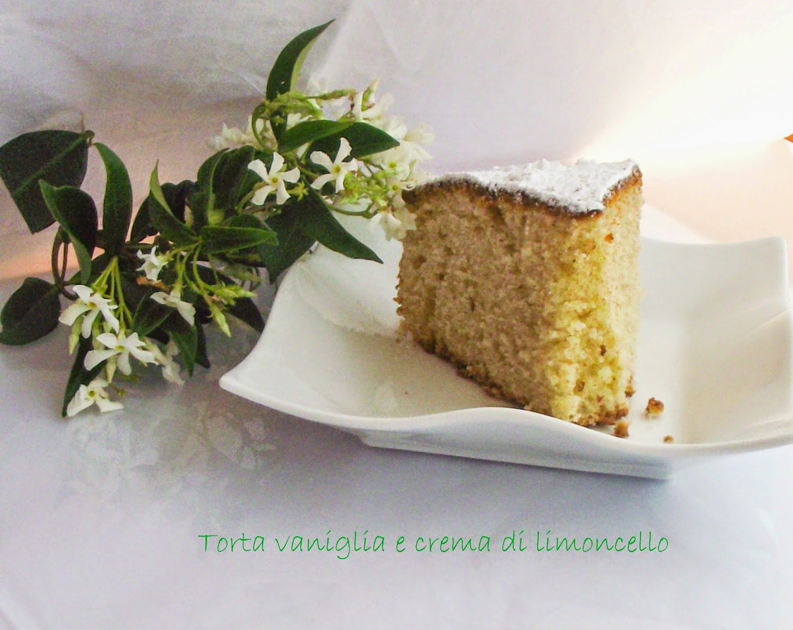 torta alla vaniglia e crema di limoncello e il giveaway di libri vagabondi