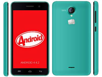 Cara Update Micromax Unite 2 A106 Dengan Android 5.0 Lollipop
