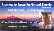 Creador del Sistema Natural de Sanación Tinerfe