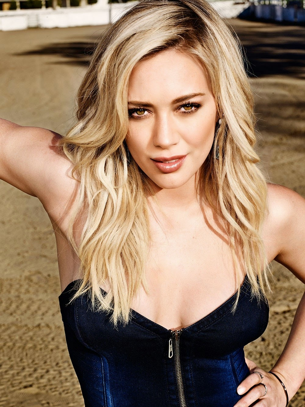 Hilary Duff shows off toned body for Shape Magazine May 2015