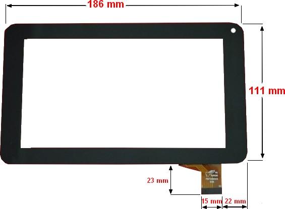 ecran tactile pour tablette polaroid storex mpman logicom lenco etc tactile. Black Bedroom Furniture Sets. Home Design Ideas