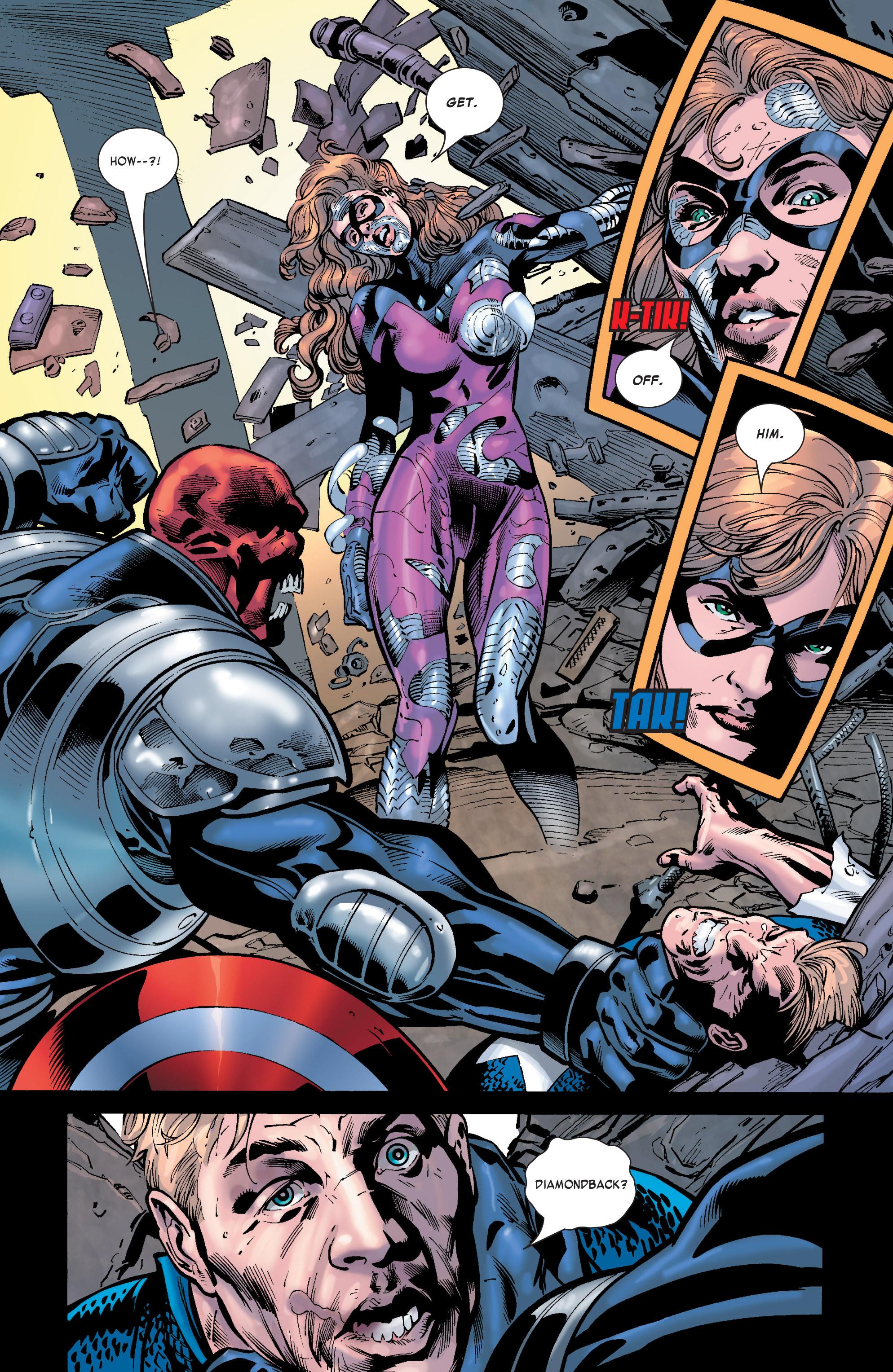 Captain America (2002) Issue #32 #33 - English 16