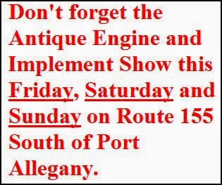 7-26/27/28 Antique Engine Show