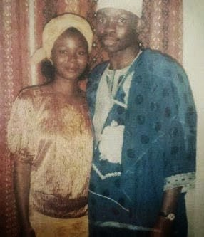 Ayo Fayose and His Beautiful Wife Back in The Day