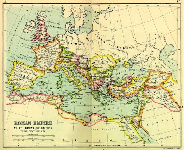 Roma İmparatorluğu Haritası