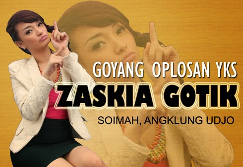 HOT Video Goyang Oplosan Zaskia Gotik di YKS