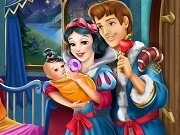 Snow White Baby Feeding