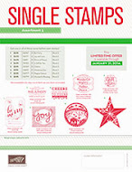 NEW HOLIDAY SINGLE STAMPS