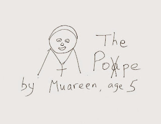 sketch of Pope