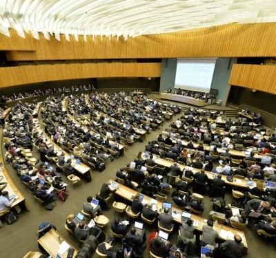 U.N. climate negotiations in Geneva this week. (Credit: UN Geneva/Flickr) Click to Enlarge.