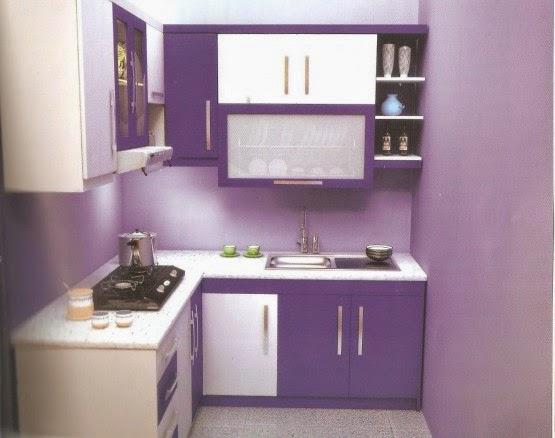 Cat dapur rumah minimalis 1