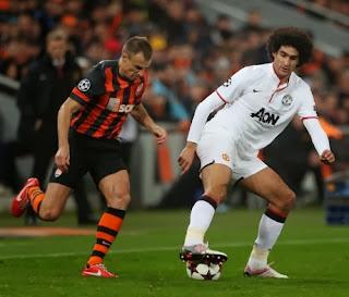 Video Cuplikan Gol Shakhtar Donetsk VS MU 1-1
