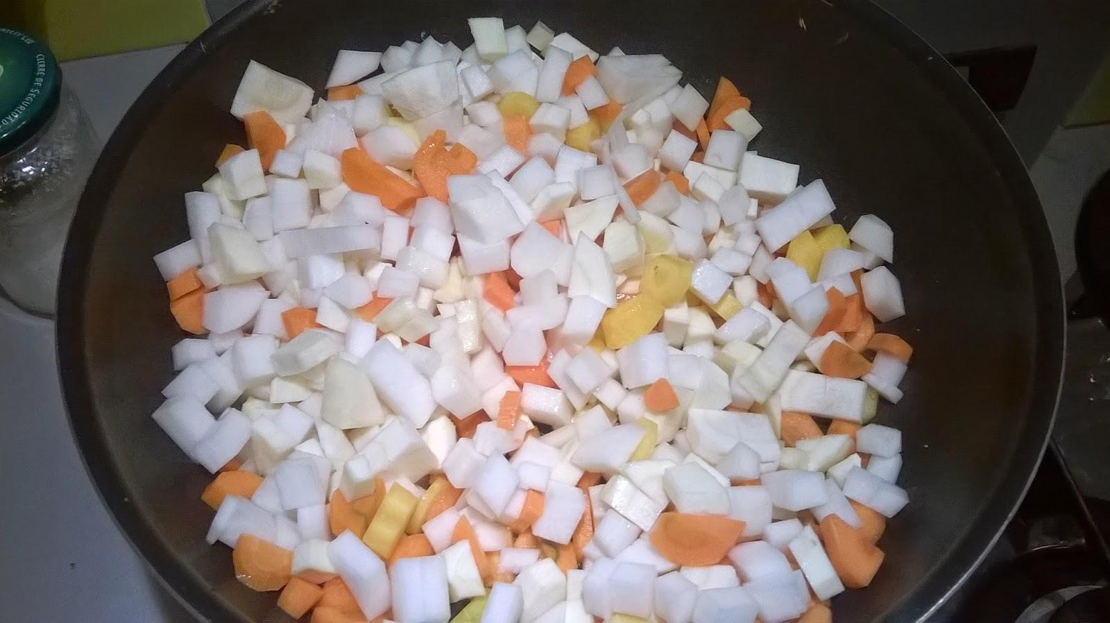 Gratin légumes d'hiver