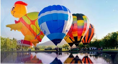 Balloons Spectacular at Canberra Festival