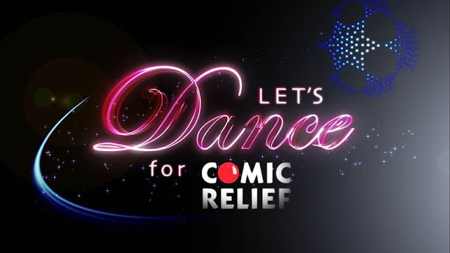 Let's Dance for Comic Relief logo