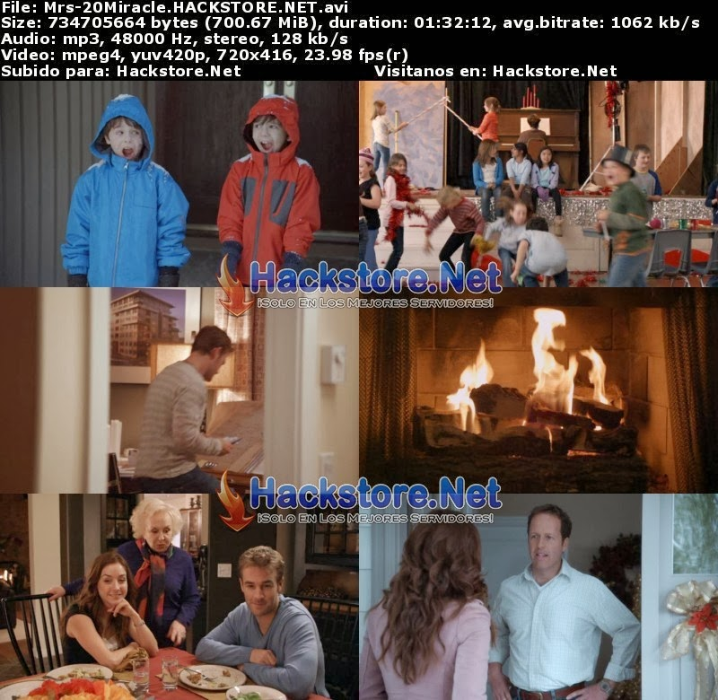 Captura Mrs. Miracle: Milagro En Casa (2009) DVDRip Latino
