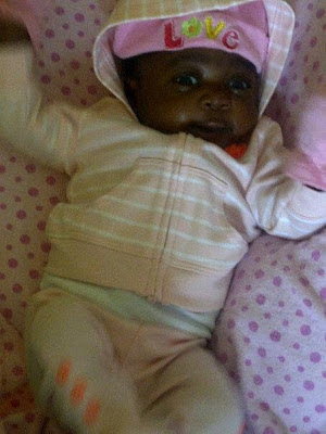 mercy johnson baby purity