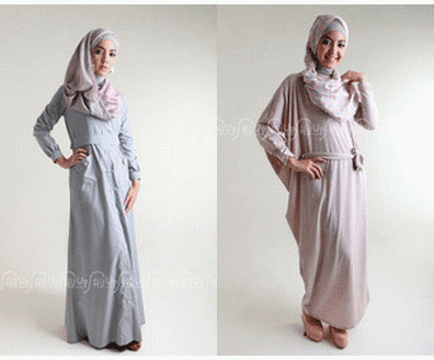 Trends Model Baju Gamis Modern Terbaru 2014 writed by Kiki Zaky on 8