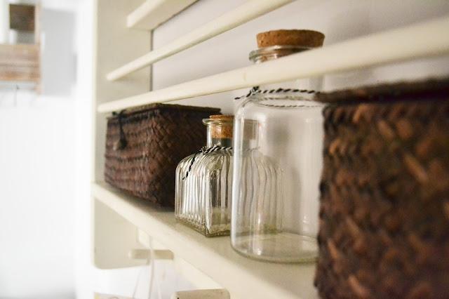 diy half bathroom reveal baby by oakley. Black Bedroom Furniture Sets. Home Design Ideas