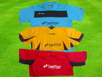 equipaciones fútbol camiseta y pantalón que regala jrvm y betfair