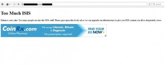 Viagra website hack