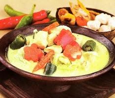 Sayur Ayam Kuah Santan resepmasakannusantara-oke.blogspot.com