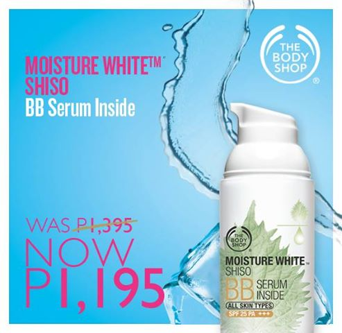 The Body Shop: All Time Fave SALE | Moisture White Shiso BB Serum