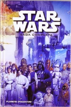 Comic Star Wars saga completa
