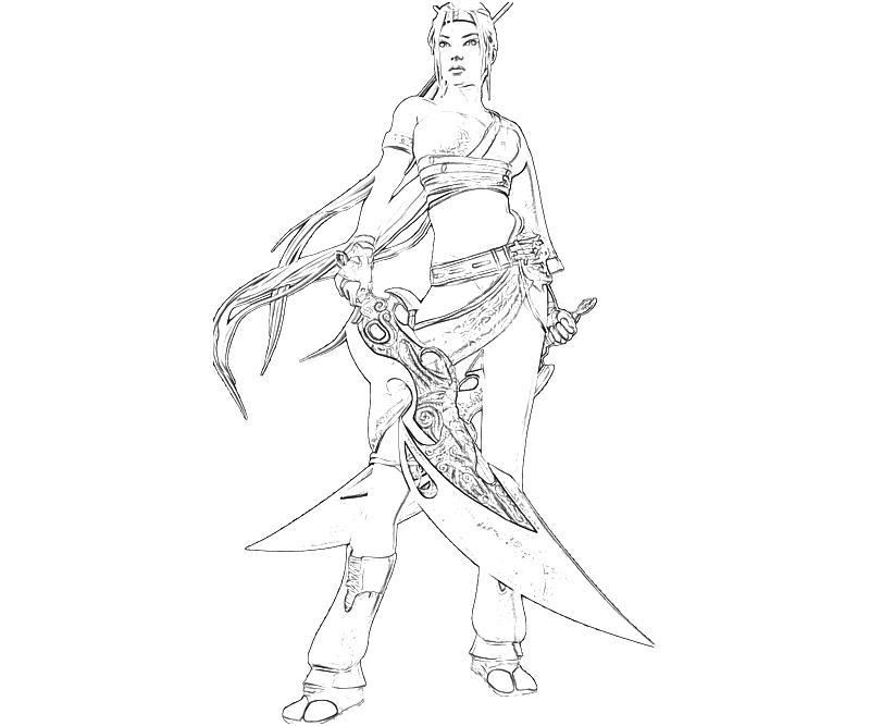 printable-heavenly-sword-nariko-cute-coloring-pages