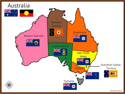 map with only names of states and territories for flag matching 3 map of australia in colour 4 outline map for colouring and writing names of the states