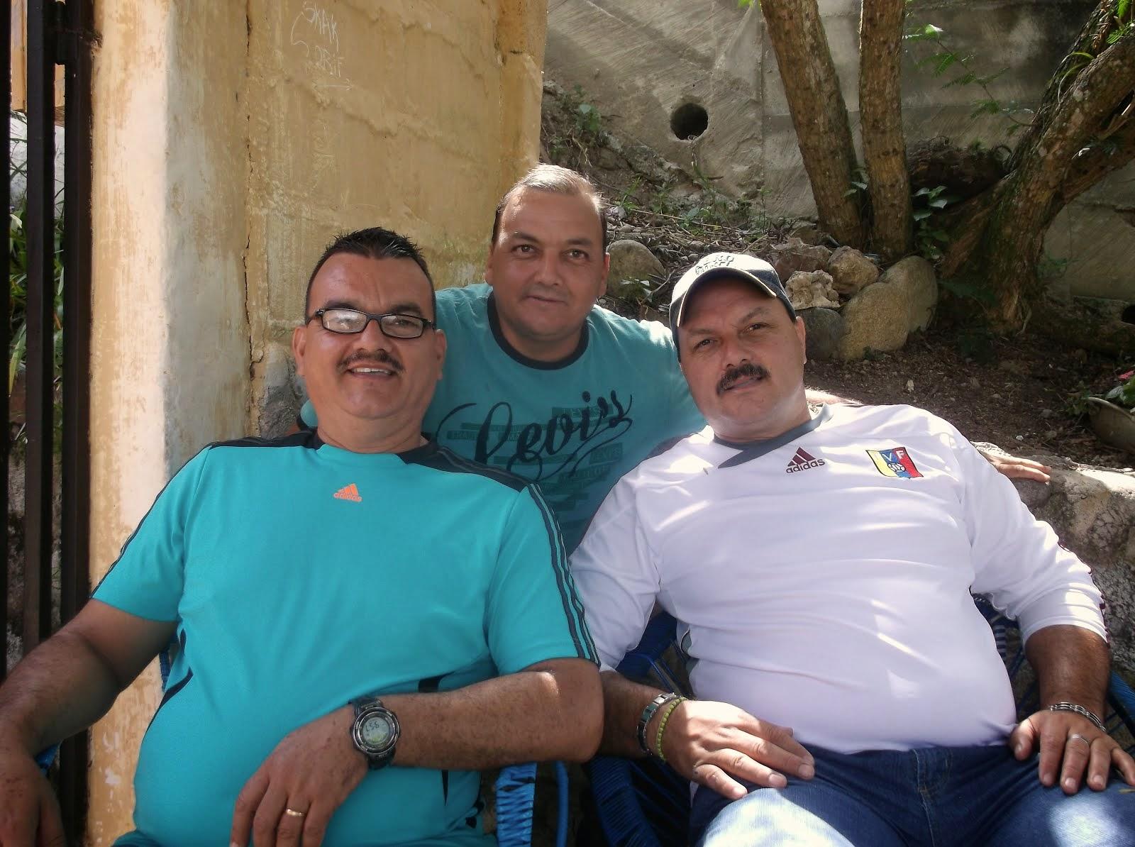 Con mis hermanos en Chiguará