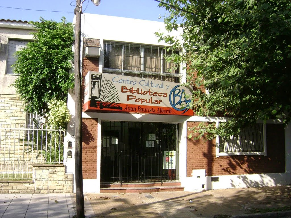 Actividades de la Biblioteca Popular Juan B Alberdi