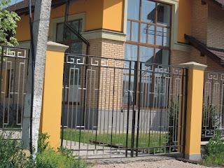 Забор металлический из профильной трубы. Фото 3