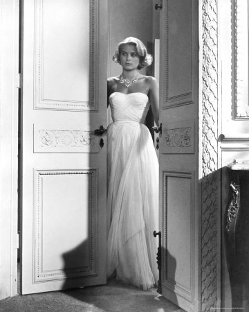 grace kelly wedding gown. her wedding gown.
