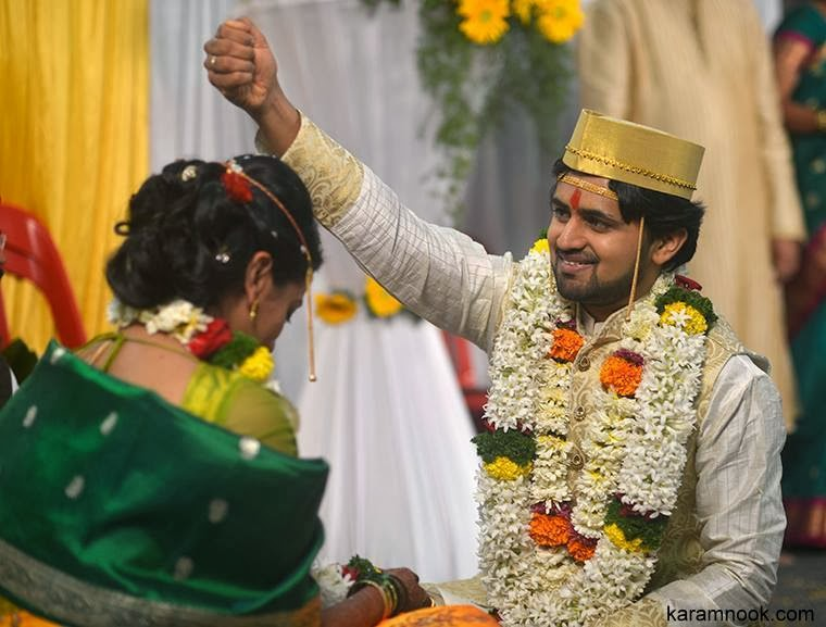 shashank ketkar marriage photos, Tejashree pradhan and shashank ketkar