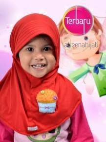 jilbab hijab anak syar'i murah lucu cantik
