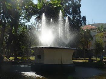 Fonte da praça de Poços de Caldas
