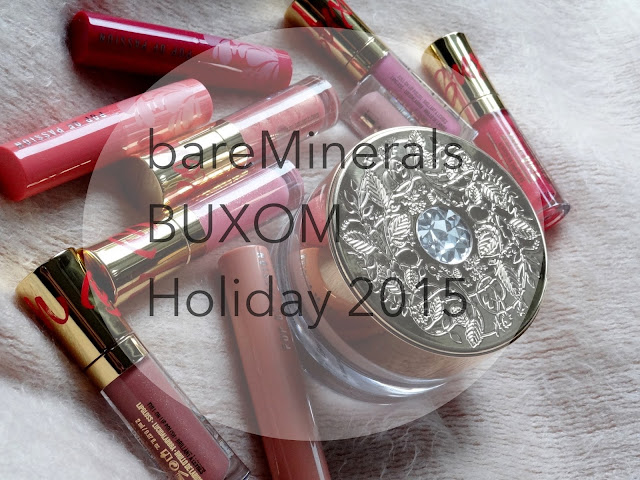 bareMinerals & BUXOM Holiday 2015 Launches