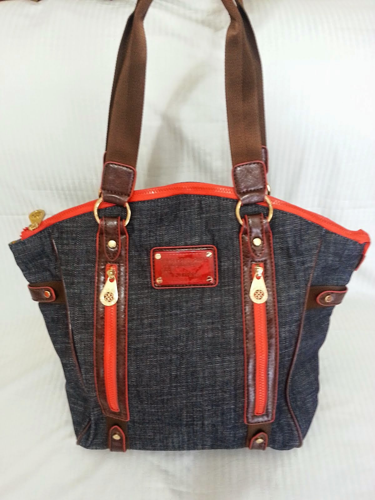 CARTERA DIVAS  23 JEAN RED COFFE