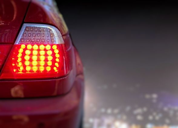 Vehicle check lights journey