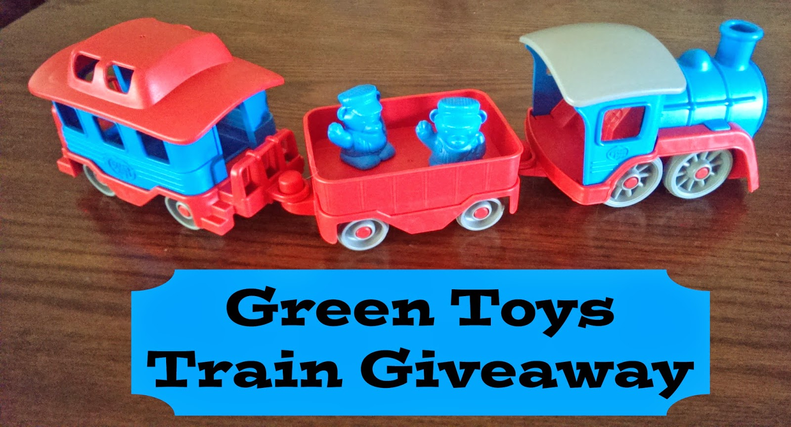 Green Toys Train Giveaway