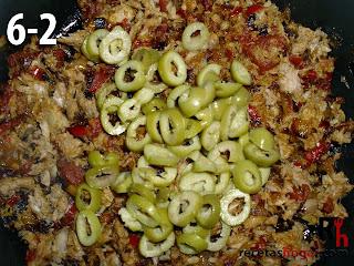 Rollitos de jamón con atún - Paso 6-2