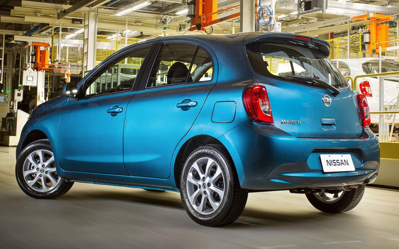 Nissan New March 2015: preços, consumo e especificações | CAR.BLOG